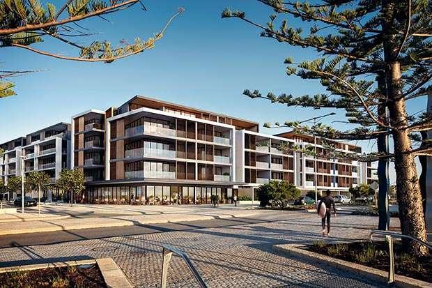 Leighton Beach, Lot 3, Buildings A & B – Built Construction