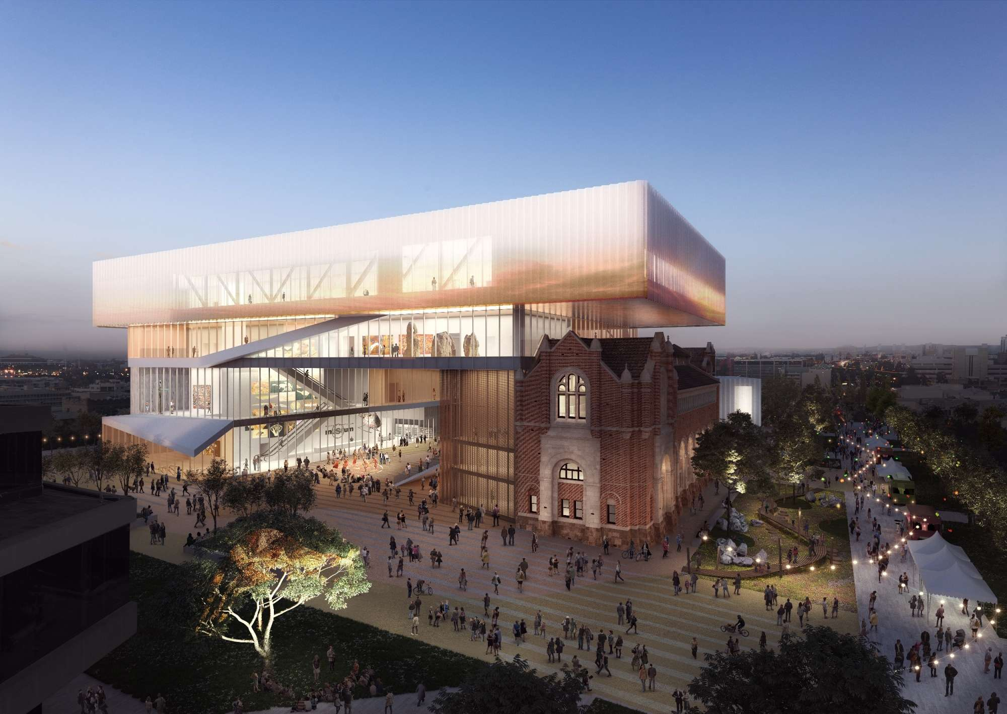 New Museum Perth – Multiplex