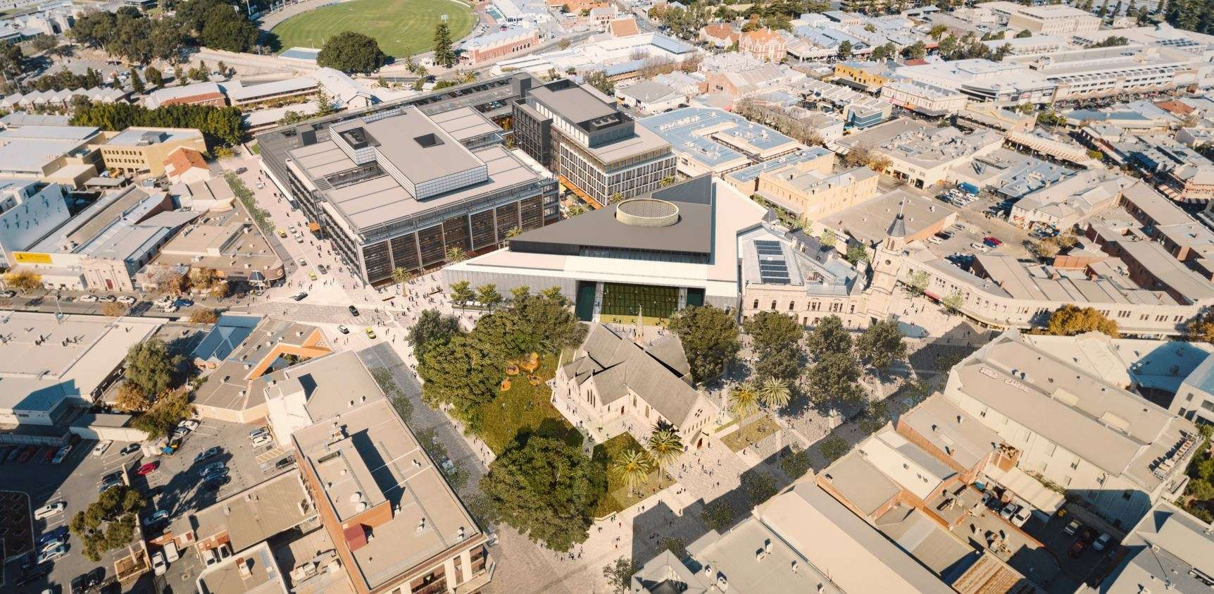 King Square Fremantle Redevelopment – Probuild